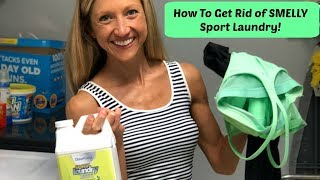 Smelly Sport Laundry? This Can Help!!