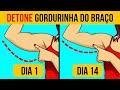 Exercicios Para Perder Gordura do Braço em 17 Dias   Como Perder Gordura Dos Braços - Braço flácido!