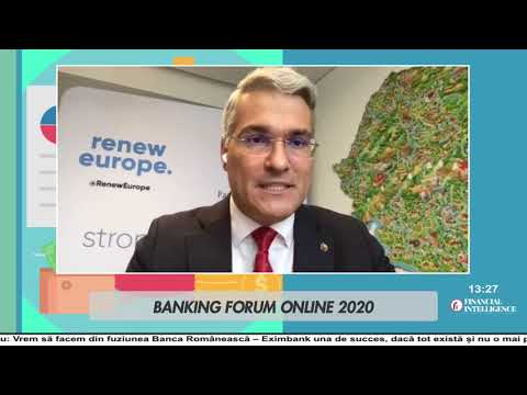 Dragoș PÎSLARU, Renew Europe Group, la Banking Forum Online by Financial Intelligence