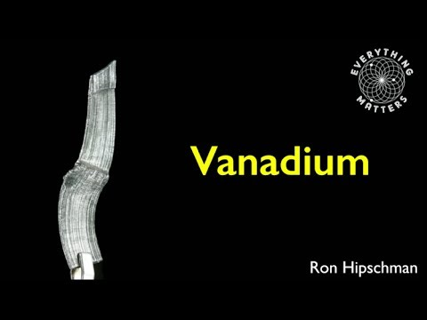 Everything Matters | Vanadium | Ron Hipschman