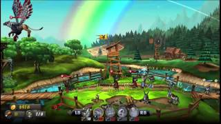 CastleStorm - 1 Minute Game Review - Xbox One Games With Gold for May 2015
