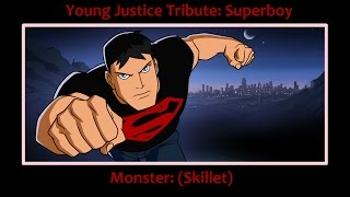young justice tribute superboy feels like a monster