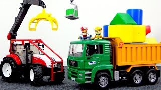 Harika oyuncaklar - Paw Patrol - Rubble ve Ryder inşaatta çalışıyorlar