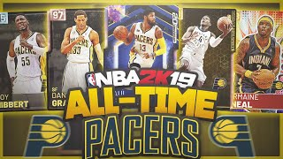 ALL-TIME INDIANA PACERS TEAM! NBA 2K19 MyTeam Squad Builder Video