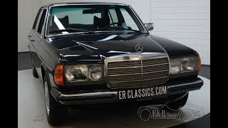 Mercedes-Benz 250 W123 Sedan 1978 Only 52.742 km -VIDEO- www.ERclassics.com