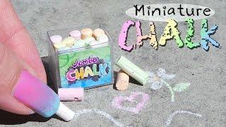 Cute Miniature Sidewalk Chalk Tutorial // Dolls/Dollhouse