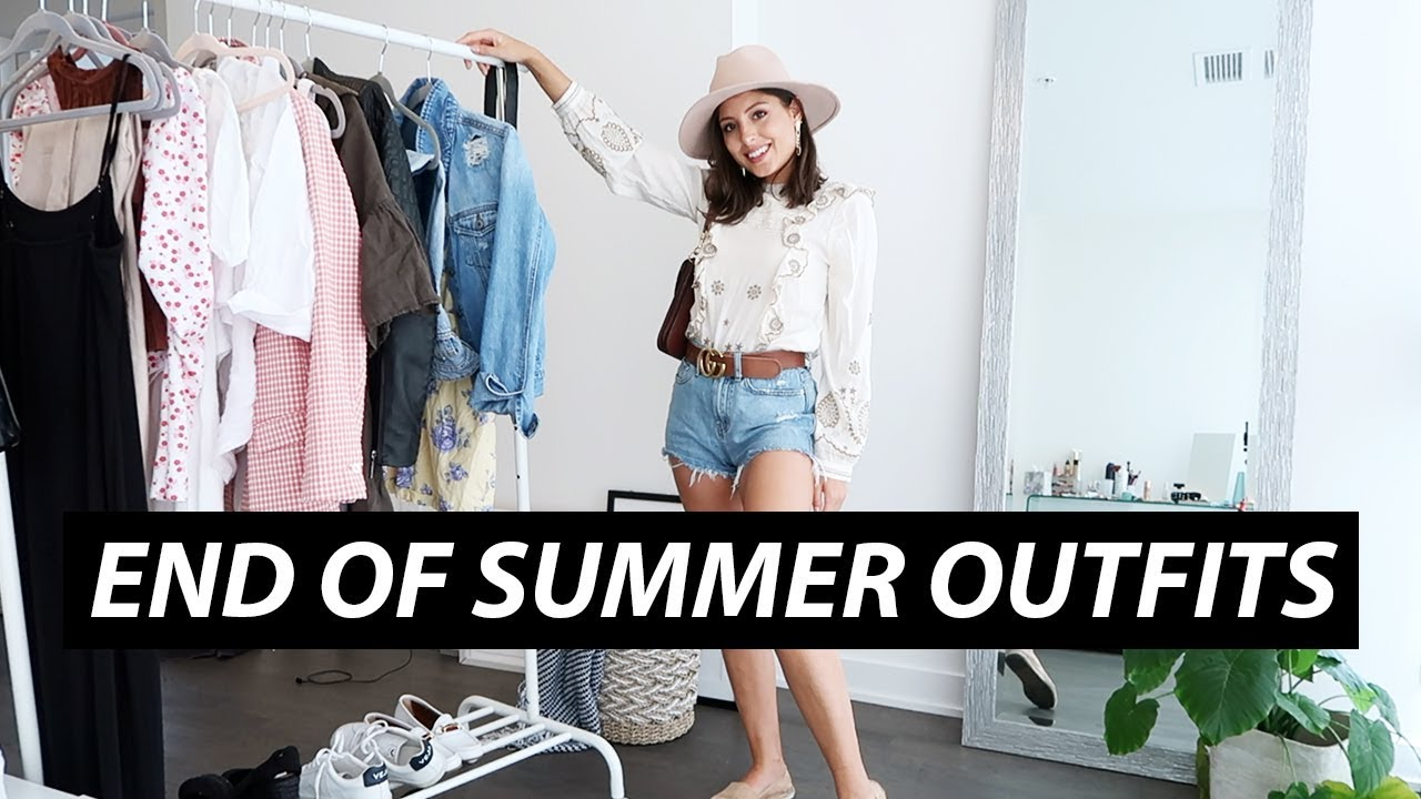 End of Summer Outfits | Love of Mode