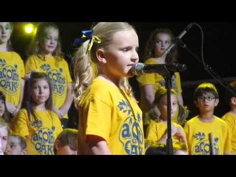Abrielle Sings at Bayside (Acorns to Oaks)