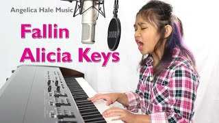 Angelica Hale Covers Alicia Keys - Fallin (8 years old)