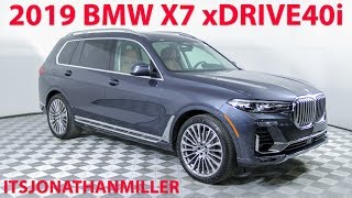 FIRST DRIVE: 2019 BMW X7 XDRIVE40I. 3 ROW LUXURY SUV