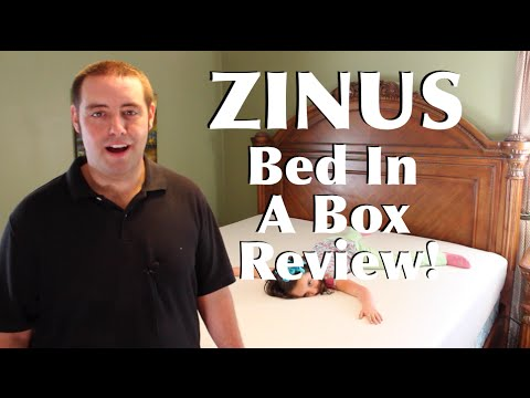 Bed In A Box Zinus King Size Mattress And Smart Base Full