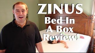 Bed In A Box Zinus King Size Mattress and Smart Base Full Review!(Buy It Here: http://amzn.to/1TiE5Oz FREE 30 Day Amazon Prime Trial: http://goo.gl/xhFJ1e To support DroidModderX bookmark this amazon link. It won't cost ..., 2015-12-24T17:00:03.000Z)