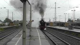 Steamtrain 41 360 leaving Oberhausen/41 360 verlässt Oberhausen HBF (Rhein in Flammen)