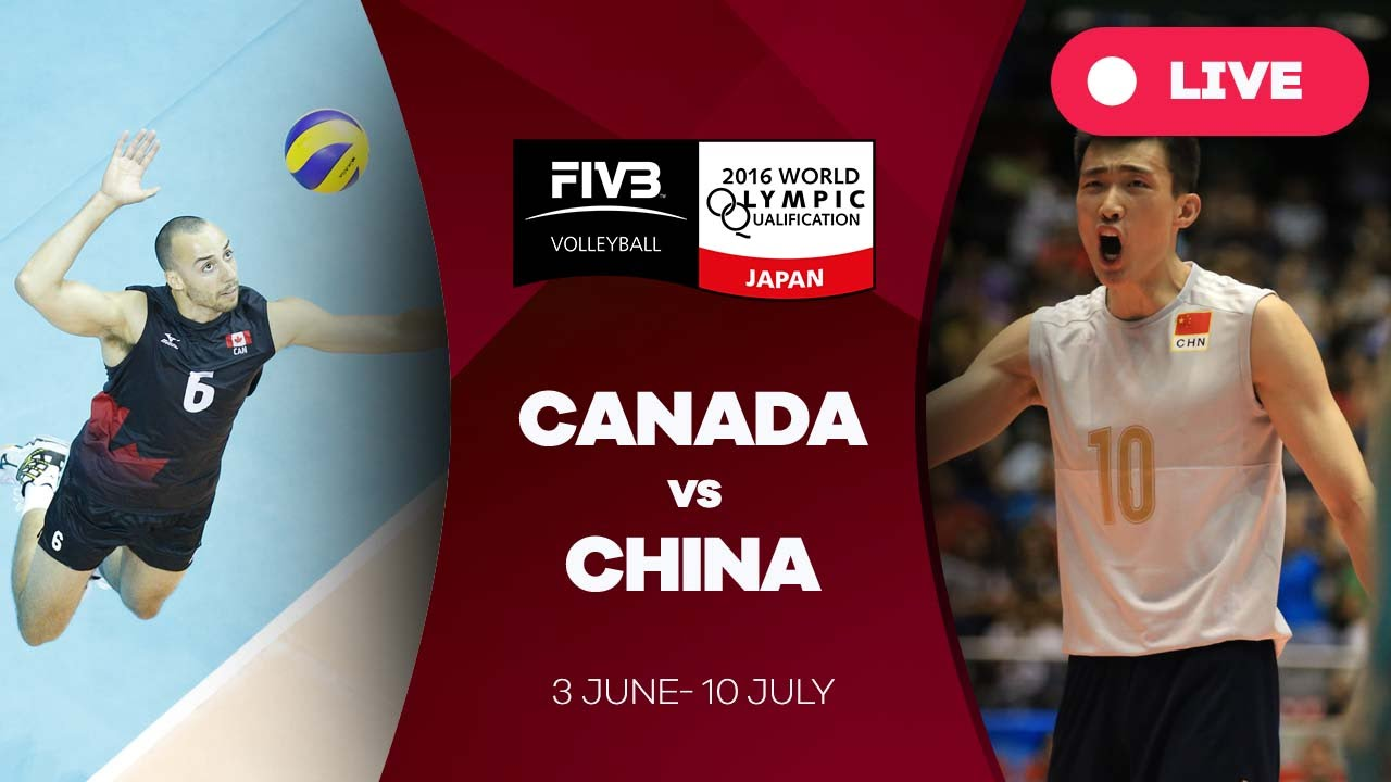 Canada v China - 2016 Men's World Olympic Qualification Tournament