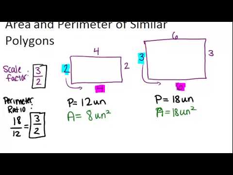 Area and perimeter of similar polygons ck 12 foundation area and perimeter of similar polygons principles ccuart Images