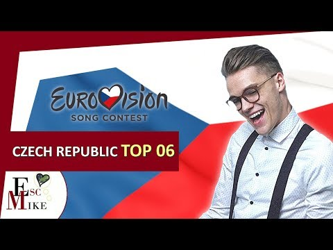 Eurovision Czech Republic 2018 - My Top 6 [With RATING]