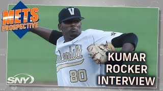 No.10 pick Kumar Rocker shares his excitement of being drafted by the Mets | Mets Prospective