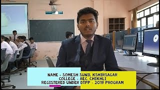 Somesh Kshirsagar's Live Review of DTPP program...