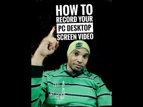 How to record your PC desktop  screen video. With Screencastify) Part 1