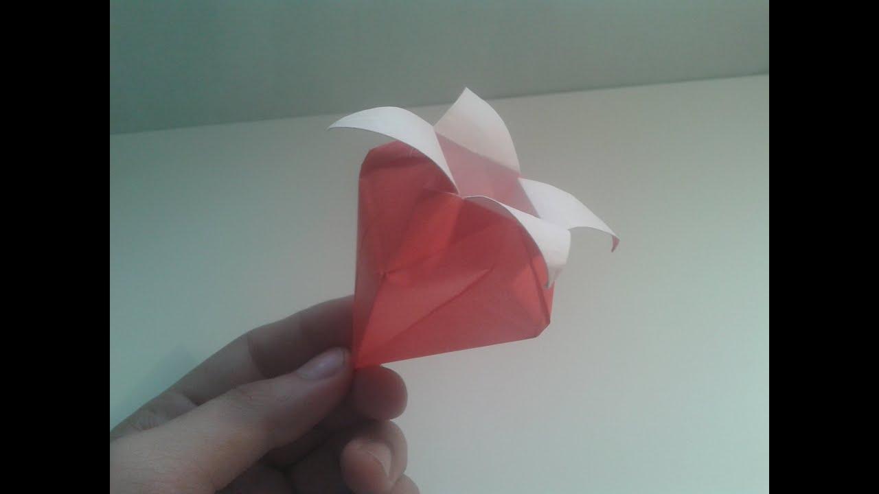 Como hacer una fresa de papel sencilla youtube for Como hacer una terraza techada