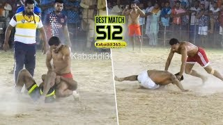 #512 Best Match | Doda Vs Dyalpura Mirza | Hamirgarh (Bathinda) Kabaddi Tournament 07 Jun 2019