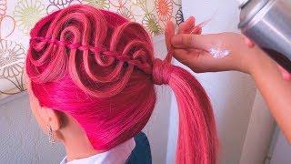 ★Красивая прическа на 1 сентября★Необычная прическа в школу★Back To School Hairstyles★LOZNITSA