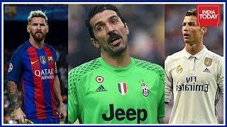 Messi, Ronaldo & Buffon Shortlisted For UEFA Player Of the Year Award