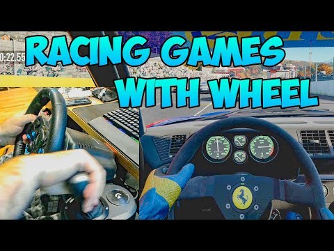 Racing Games With Steering Wheel (Project Cars 2 And G29)