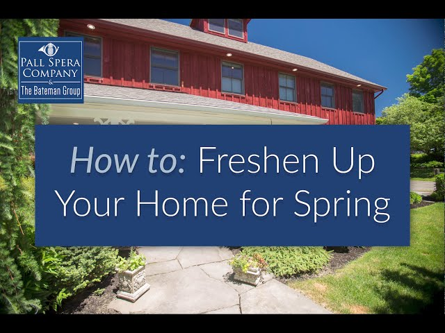 How freshen up your home for Spring in Vermont!