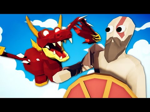 How To Slay A Dragon - Totally Accurate Battle Simulator (TABS)