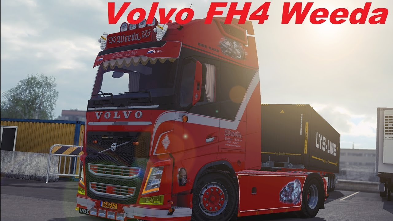 eurotrucksimulator 2 volvo fh4 weeda download youtube. Black Bedroom Furniture Sets. Home Design Ideas