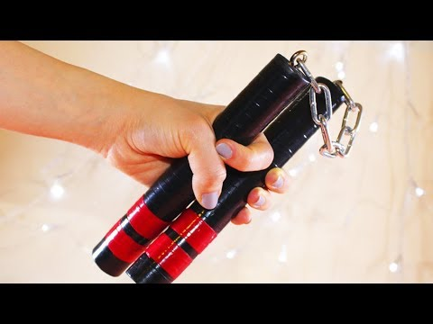 DIY How to Make Nunchucks at Home | Weapons of Bruce Lee