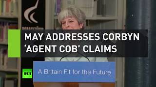 May addresses Corbyn
