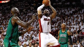 Miami Heat Big 3 Full Combined Highlights 2012 ECF G7 vs. Celtics - 73 Pts 26 Rebs