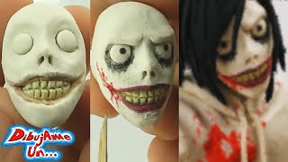 Como hacer a JEFF The Killer de plastilina  Especial Halloween | Making Jeff The Killer in clay