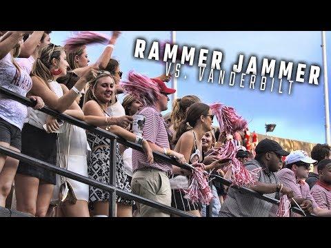 """Alabama fans sing """"Rammer Jammer"""" after Tide roll over Vandy"""