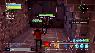 RETARDED Scammer gets Scammed TWICE in Fortnite save the world pve