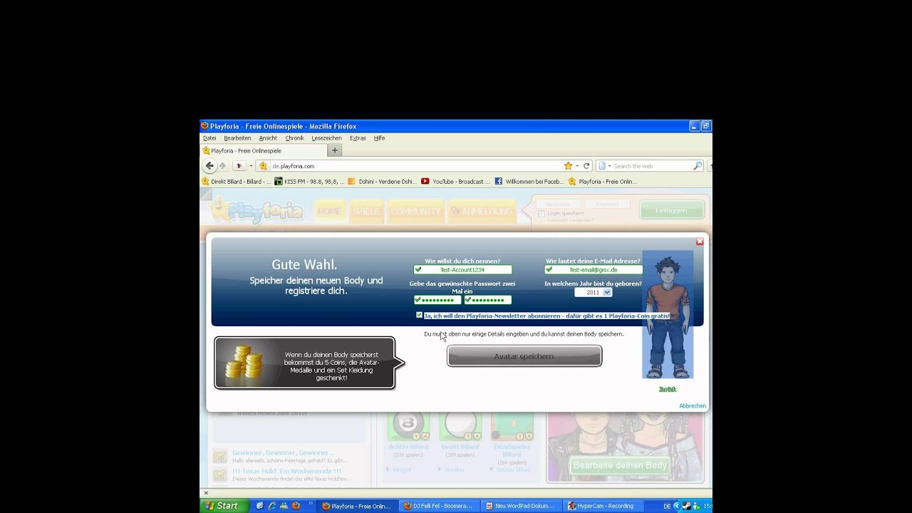 Spieleseite