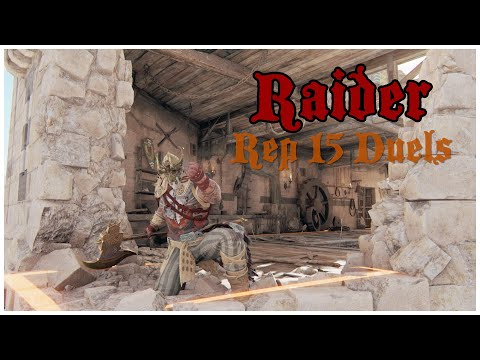 A WORTHY OPPONENT || For Honor || Raider Rep 15 Duels |