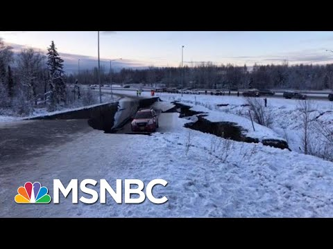 Anchorage Mayor: There Has Been Minimal Damage, Stay Calm | Katy Tur | MSNBC