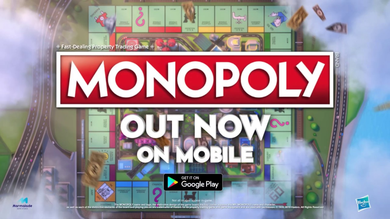 Monopoly For Mobile Google Play Youtube