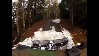 BVS10  ouverture de route forestiere