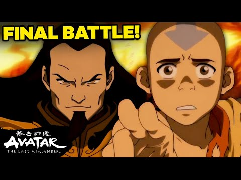 FULL Uncut 'Aang vs. Fire Lord Ozai Final Battle' | Avatar
