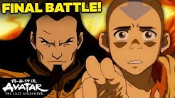 "FULL Uncut ""Aang vs. Fire Lord Ozai Final Battle"" 🔥 Avatar: The Last Airbender 