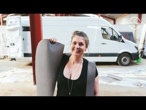 DIY Campervan Floor! Sprinter Van Conversion Series