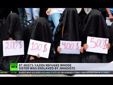 Kurdish refugees get 'frosty welcome' as women become ISIS slaves