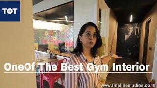One Of The Best Gym Interiors | Gym Interior Design Ideas #gymtour