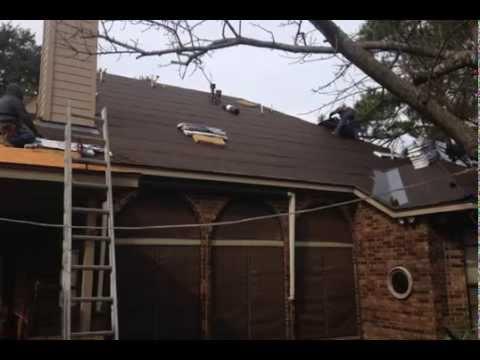 Roofing In Katy Tx Cinco Ranch Reroof Gaf Hd Barkwood