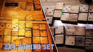 My Next Project:  2x4 Domino Set