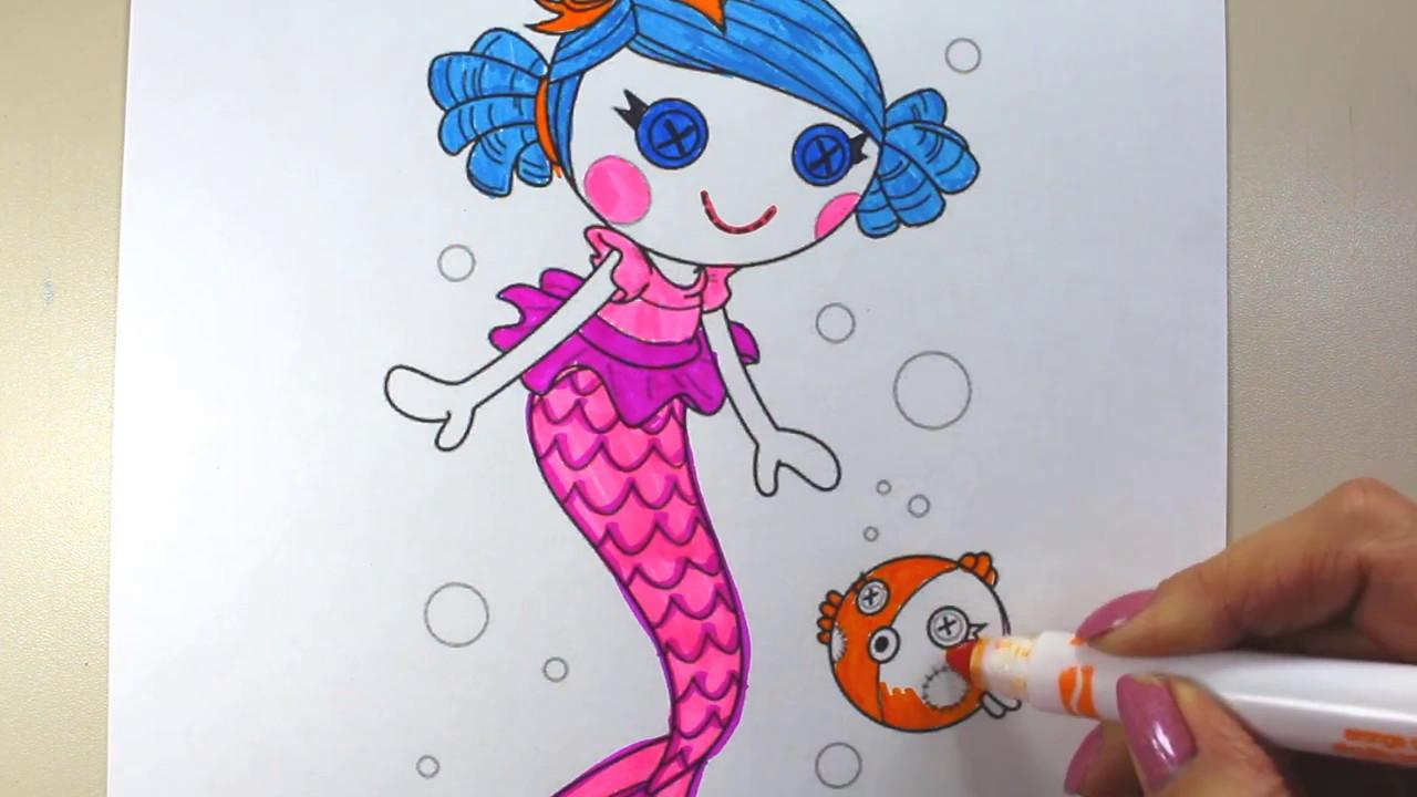 Lalaloopsy coloring pages printable games | 720x1280